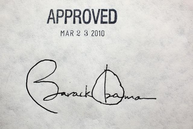 ObamaSignatureChuckKennedyWhiteHouseOfficial