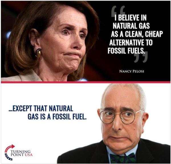 Pelosi-Gas