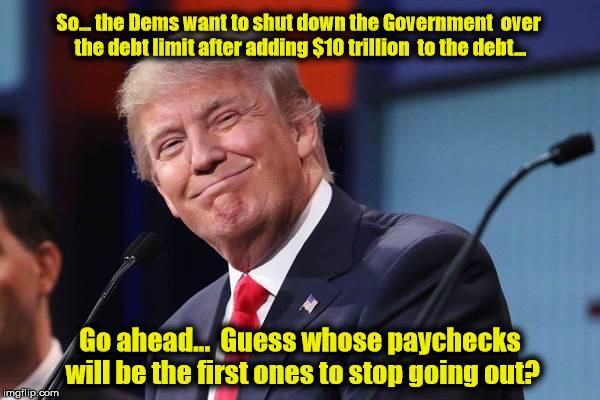 TrumpGovtShutdown